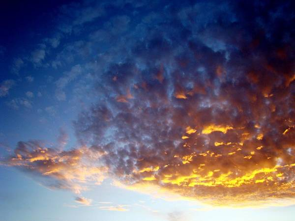 Clouds Poster featuring the photograph Supernatural Cloud Three by Ana Villaronga