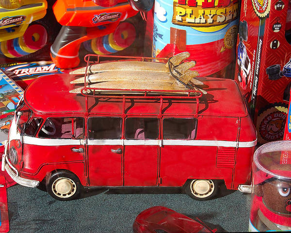 Photography Poster featuring the photograph Surf Bus by Heather S Huston
