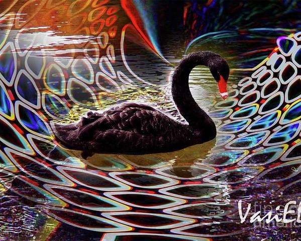 Swan Fantasy Poster