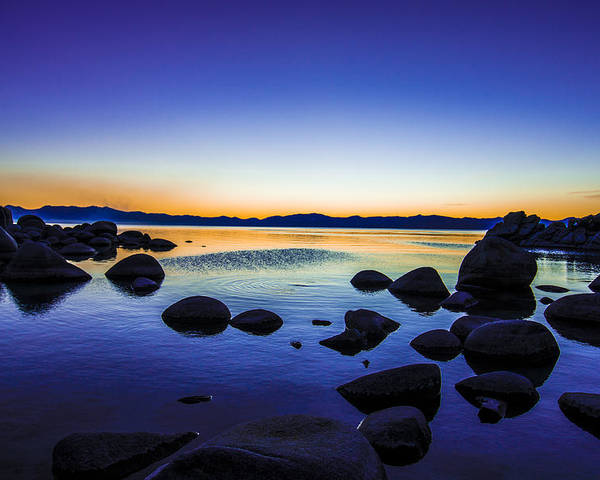 Serene Poster featuring the photograph Tahoe Serenity by Brandon McClintock
