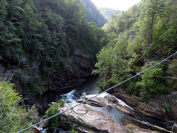 Tallulah Gorge Poster featuring the photograph Tallulah Gorge 2 by J M Farris Photography