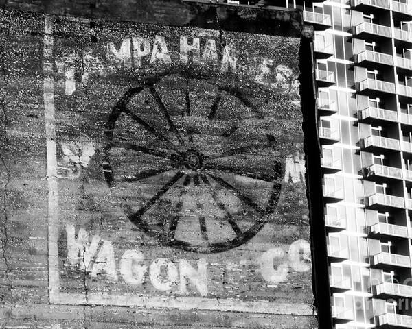 Tampa Harness And Wagon Company Poster featuring the photograph Tampa Harness Wagon N Company by David Lee Thompson