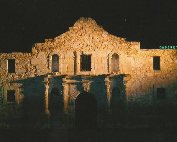 Photo Poster featuring the photograph The Alamo by Tara Kearce