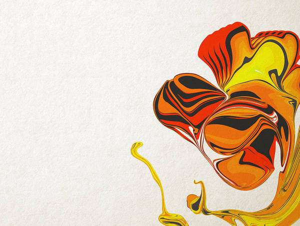 Poster featuring the digital art The Birth Of A Butterfly by Artem Pomelnikov