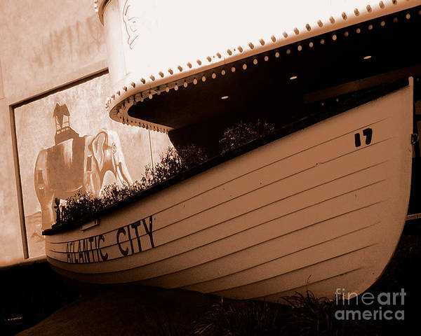 Boats Poster featuring the photograph The Boardwalk by Heather Weikel