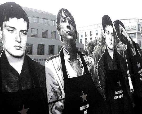 Pret Poster featuring the photograph The Boys Are Back In Town by Jez C Self