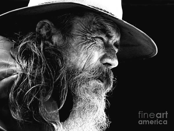 Australian Bushman Hat Poster featuring the photograph The Bushman by Sheila Smart Fine Art Photography