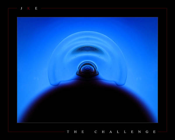 Challenge Poster featuring the photograph The Challenge by Jonathan Ellis Keys