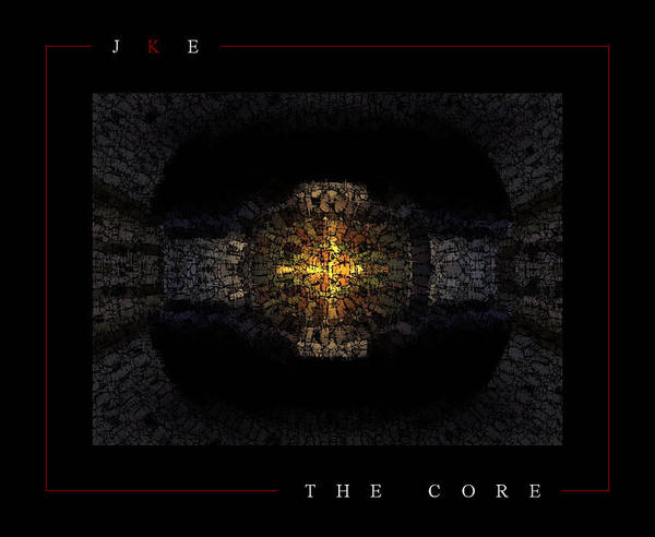 Car Poster featuring the photograph The Core by Jonathan Ellis Keys