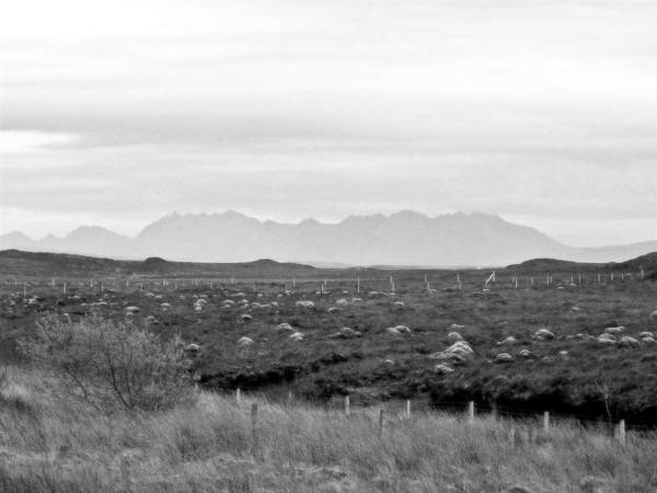 Landscape Poster featuring the photograph The Cuillin by Dan Andersson