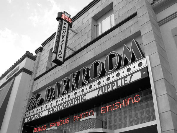 City Poster featuring the photograph The Darkroom by Audrey Venute