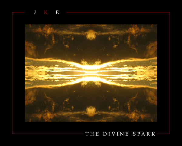Sun Poster featuring the photograph The Divine Spark by Jonathan Ellis Keys