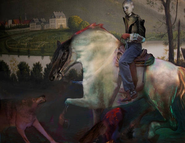 Dream Poster featuring the digital art The Dream 1 by Henriette Tuer lund
