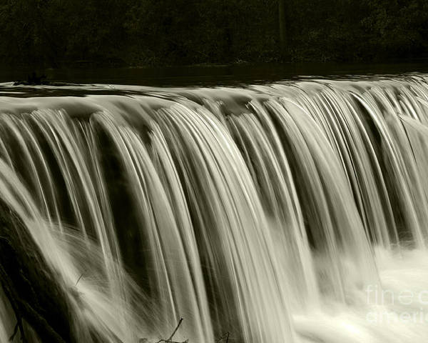 Waterfalls Poster featuring the photograph The Falls by Timothy Johnson