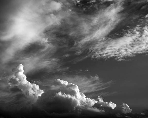 Clouds Poster featuring the photograph The Fine Art Of Clouds by Jim Darnall