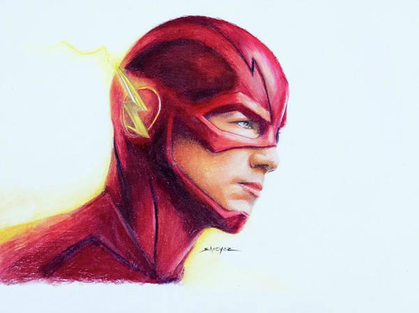 Verbazingwekkend The Flash - Barry Allen Poster by Shreyas Pailkar OO-53