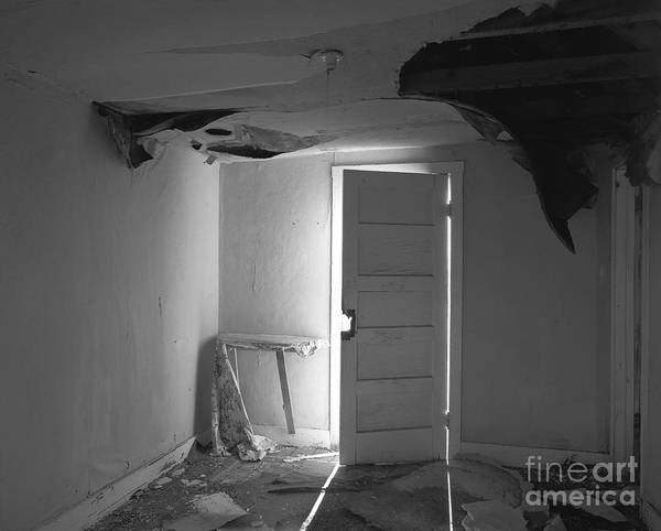 Christian Slanec Poster featuring the photograph The Forgotten Room by Christian Slanec