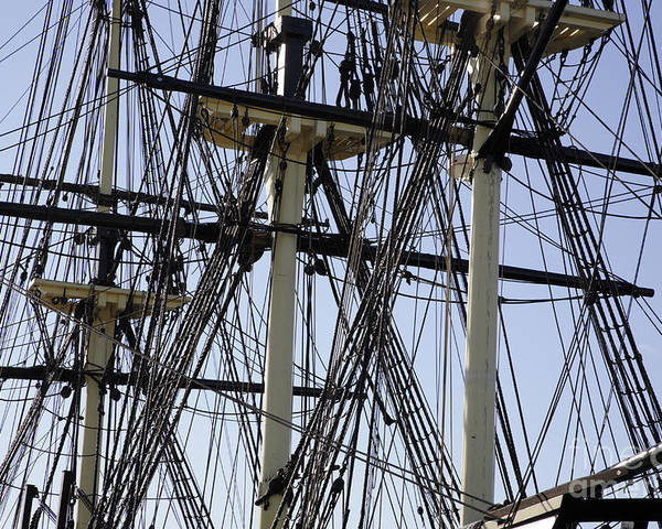 Salem Poster featuring the photograph The Friendship Of Salem Tall Ship In Salem Massachusetts Usa by Erin Paul Donovan