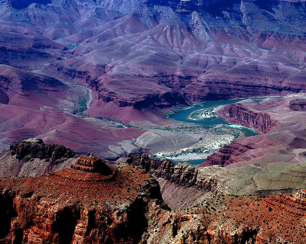 Photography Poster featuring the photograph The Grand Canyon by Susanne Van Hulst