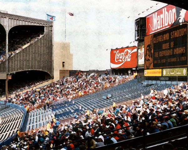 Cleveland Poster featuring the photograph The Grand Finale by Kenneth Krolikowski