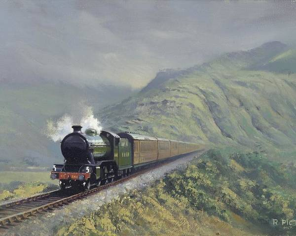 Steam Poster featuring the painting the Great Marquess by Richard Picton