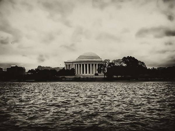 Potomac Poster featuring the photograph The Jefferson Memorial by Bill Cannon