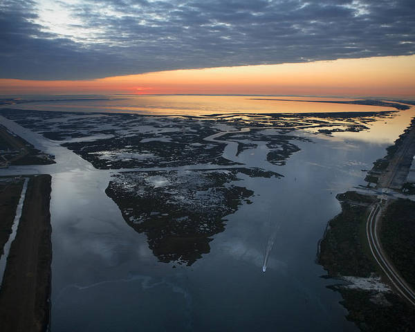 New Orleans Poster featuring the photograph The Mississippi River Gulf Outlet by Tyrone Turner