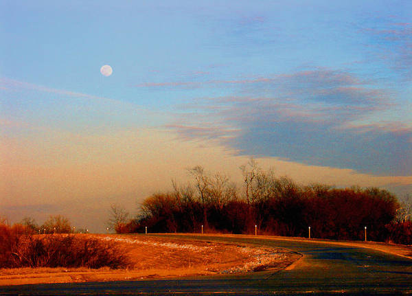 Landscape Poster featuring the photograph The On Ramp by Steve Karol