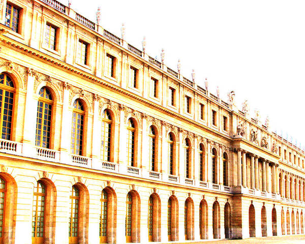 Versailles Poster featuring the photograph The Palace by Amanda Barcon