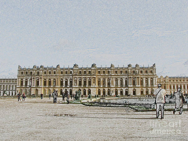 Palace Poster featuring the photograph The Palace Of Versailles by Amanda Barcon