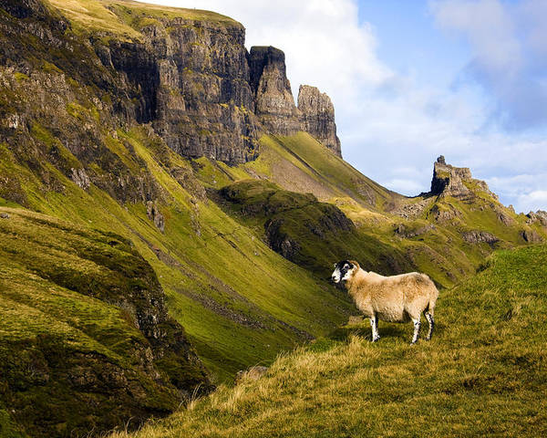 Scotland Poster featuring the photograph The Quiraing Isle Of Skye by John McKinlay