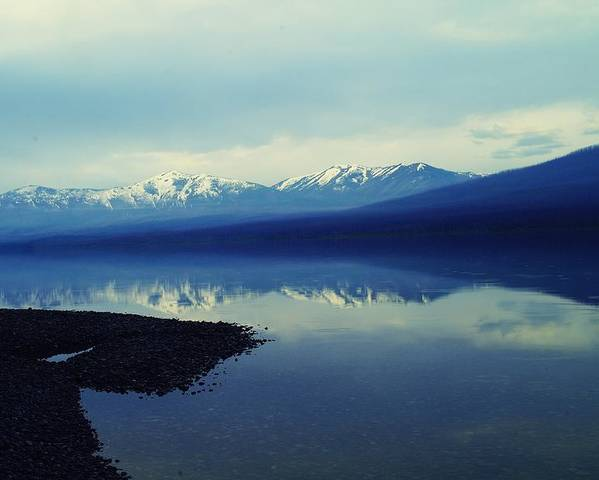 Mountains Poster featuring the photograph The Resounding Stillness by Jeff Swan