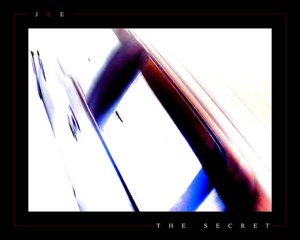 Abstract Poster featuring the photograph The Secret by Jonathan Ellis Keys