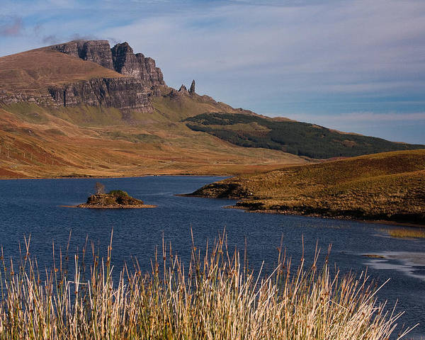 Scotland Poster featuring the photograph The Storr by Colette Panaioti