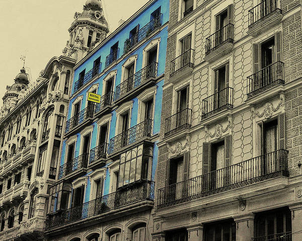 Architecture Poster featuring the photograph The Streets Of Toledo by JAMART Photography