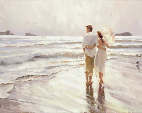 Love Poster featuring the painting The Way That It Should Be by Steve Henderson