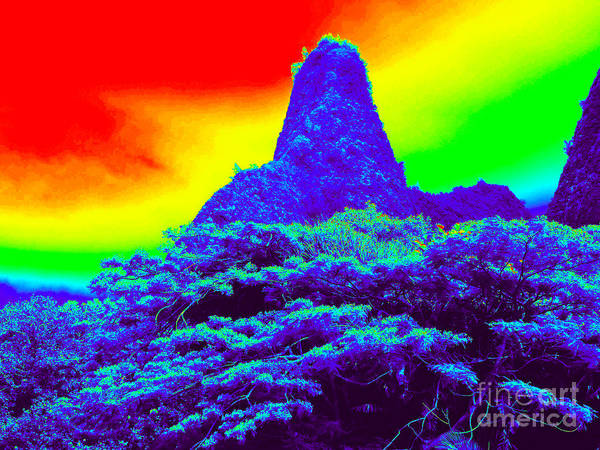 Hawaii Poster featuring the photograph Thermal Face Of Hawaii by Chad Kroll