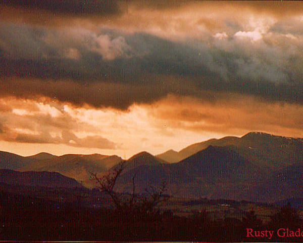 English Landscape Poster featuring the photograph Thunderhead by Rusty Gladdish