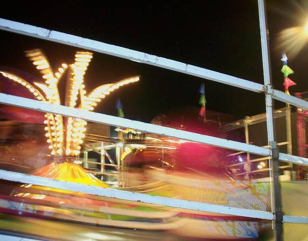 State Fair Poster featuring the photograph Tilt-a-whirl 2 by Anita Burgermeister