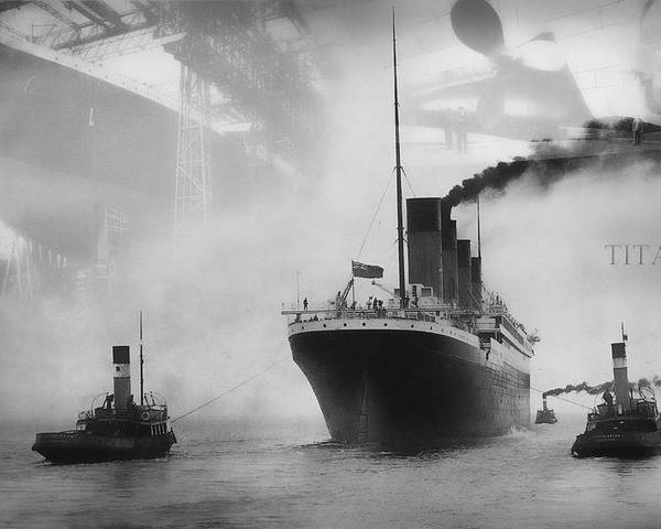 Titanic Poster featuring the photograph Titanic by Chris Cardwell