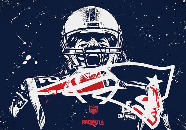 8471729e9849f Tom Brady Intense Poster