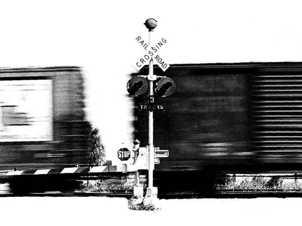 Train Tryptic Poster featuring the photograph Train Tryptic B Of C by Richard Gerken