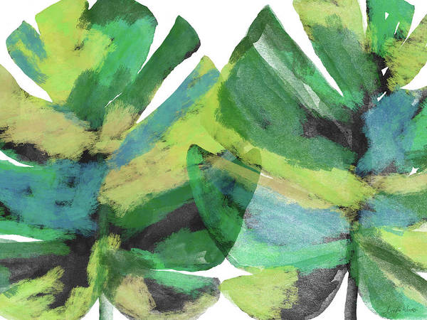 Tropical Poster featuring the mixed media Tropical Dreams 1- Art by Linda Woods by Linda Woods