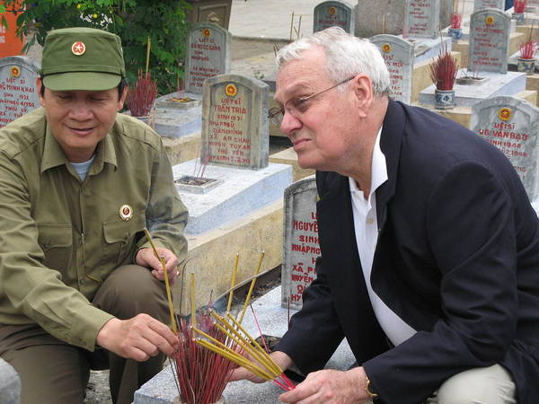 Vietnam Poster featuring the photograph Truong Son Graves by Gary Canant