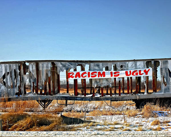 Racism Poster featuring the photograph Truth In Advertising by Steve Harrington