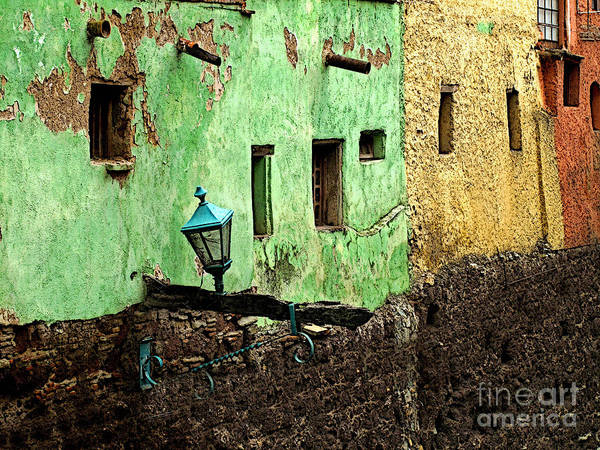 Darian Day Poster featuring the photograph Tunnel Lamp 2 by Mexicolors Art Photography