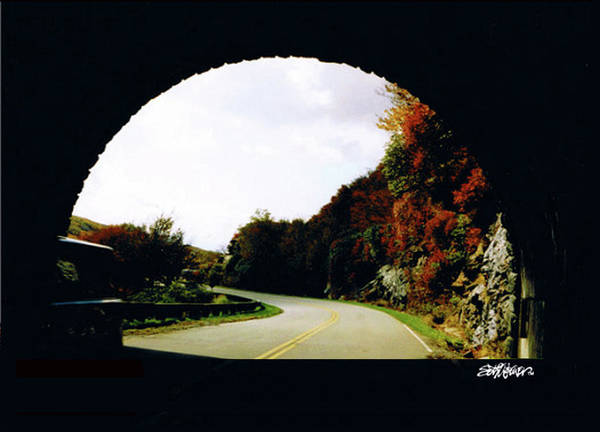 Tunnel Vision Poster featuring the photograph Tunnel Vision by Seth Weaver