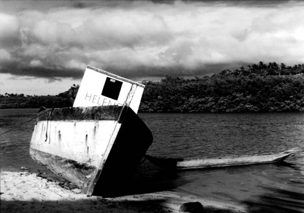 Boat Poster featuring the photograph Two Boats by Amarildo Correa