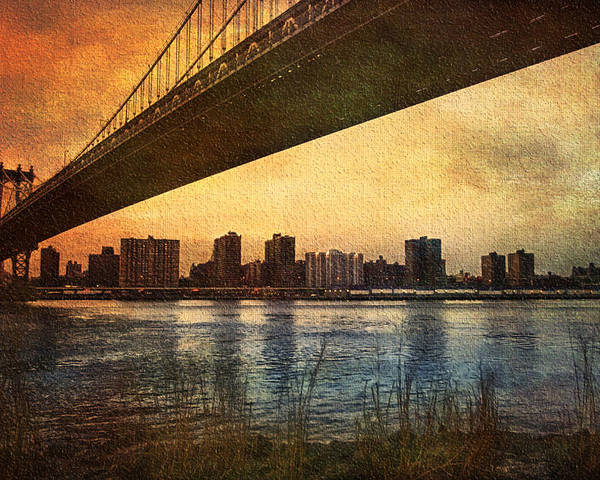 America Poster featuring the photograph Under The Bridge by Svetlana Sewell