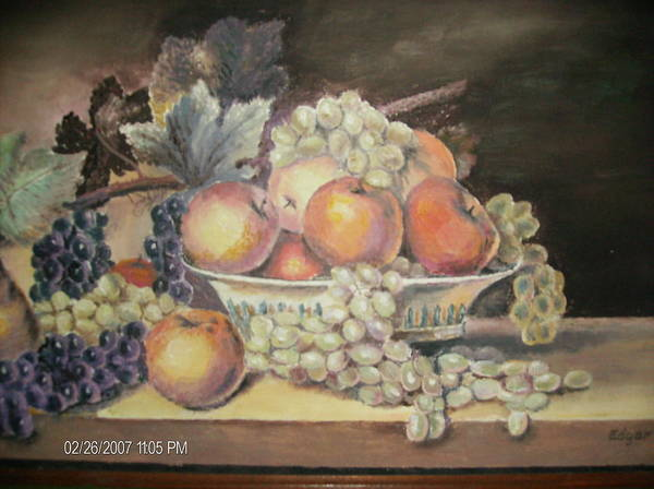 Fruit Poster featuring the painting Unknown by Anne-Elizabeth Whiteway